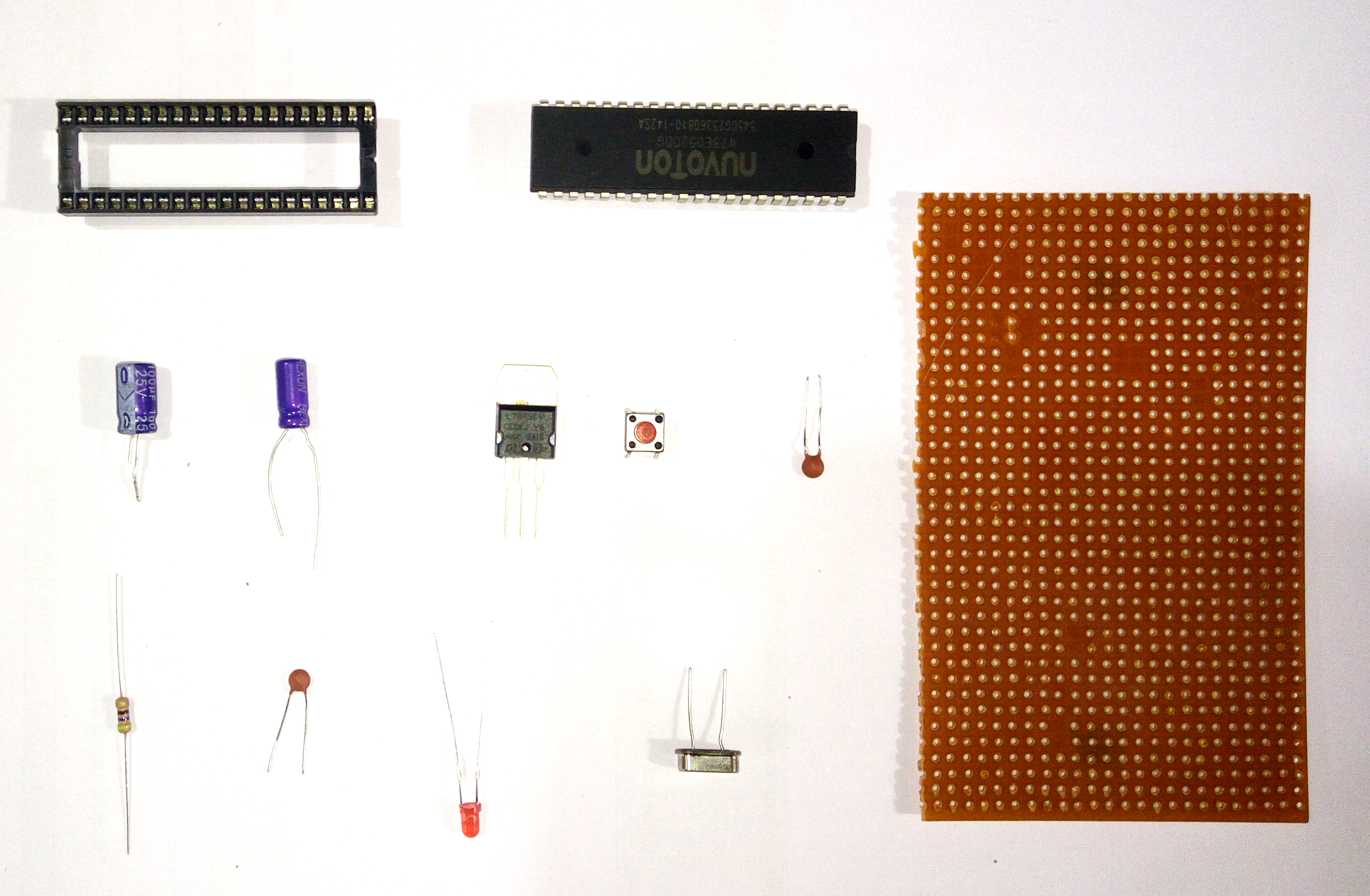 8051-microcontroller-development-board