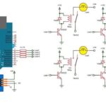 circuit diagram of voice controlled home automation-engineeringprayog.com